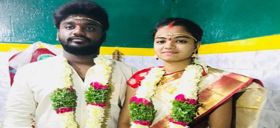 Hyderabad: Father attacks daughter, son-in-law with sickle for inter-caste marriage (Photo: Twitter/ANI)