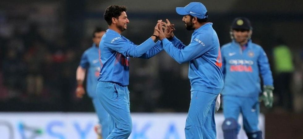Kuldeep Yadav becomes fastest Indian spinner to take 50 ODI wickets (Photo: Twitter)