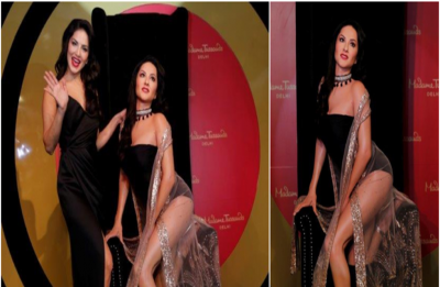 Sunny Leone' wax statue unveiled at Delhi's Madame Tussauds