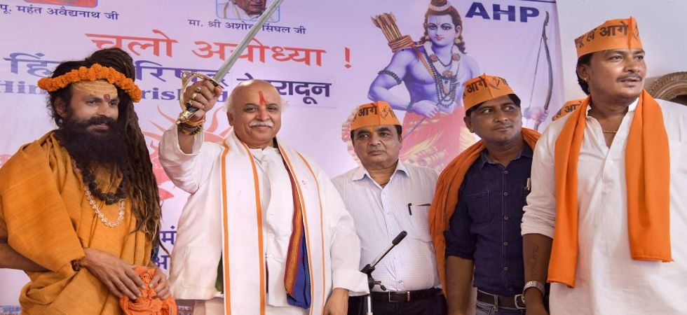 Modi govt has forgotten Lord Ram: ex-VHP chief Praveen Togadia (Photo Source: PTI)