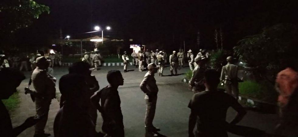 Manipur University clash: Police carry our midnight raid (Photo Source: Twitter)