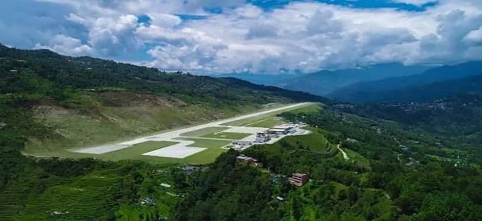 Sikkim gets its first ever airport in Pakyong (Image: Airports Authority of India)