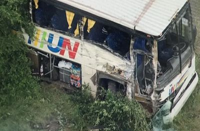 Uttar Pradesh: 50 injured in accident on Delhi-Haridwar national highway