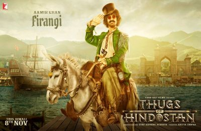 Presenting the chirpy Firangi of Thugs Of Hindostan, don't miss out the giddy salute!