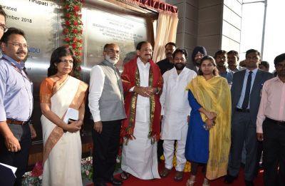 Andhra Pradesh: Vice President Venkaiah Naidu inaugurates Rs 100 crore culinary institute