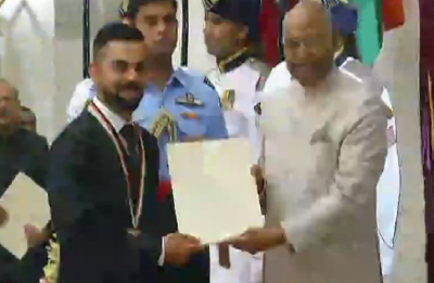Virat Kohli, Mirabai Chanu receive Rajiv Gandhi Khel Ratna Award | Complete list of Arjuna, Dronacharya Awardees 2018