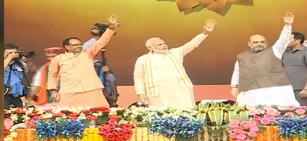 PM Modi in Bhopal LIVE: 'Karyakarta Mahakumbh' to be launched soon (Photo: Twitter)