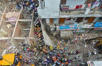 Delhi Building Collapse: Four children, two women killed; CM Kejriwal orders magisterial probe