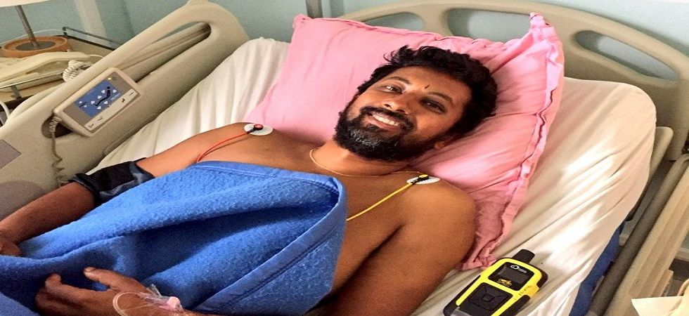 Injured Navyman to be brought back to India: Defence Spokesman (Photo- Twitter/@indiannavy)