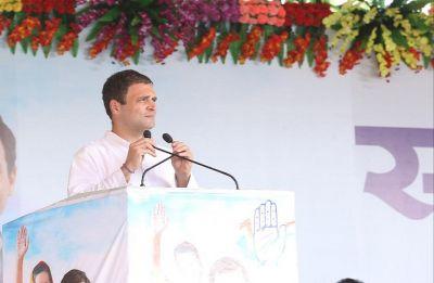 Rahul Gandhi in Madhya Pradesh's Satna: Congress chief calls PM a 'lie-machine'