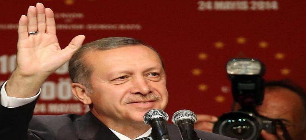 Turkish President Recep Tayyip Erdogan (Photo- Twitter/@Dmkt1)