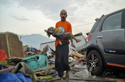 Indonesia Earthquake-Tsunami toll reaches 832, over 500 injured, thousands homeless in Sulawesi Island