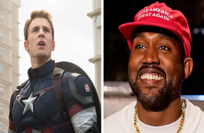 Chris Evans blasts Kanye West for his comments on anti-slavery amendment