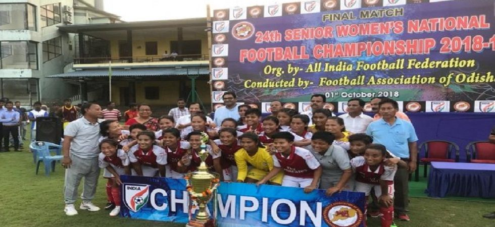 Manipur clinch Women's National Football Championship crown (Photo- Twitter/@IndianFootball)
