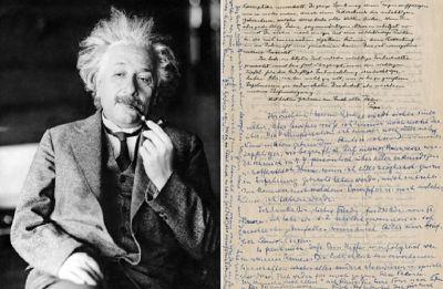 Einstein's 'God letter' to go on sale for $1 million