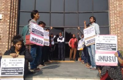 JNUSU calls for university strike tomorrow