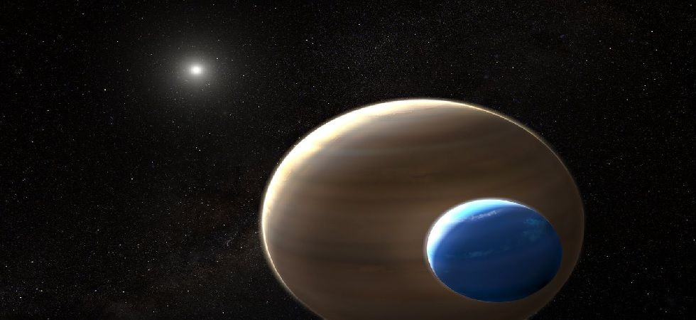 'First exomoon may have been found' (Image: Twitter)