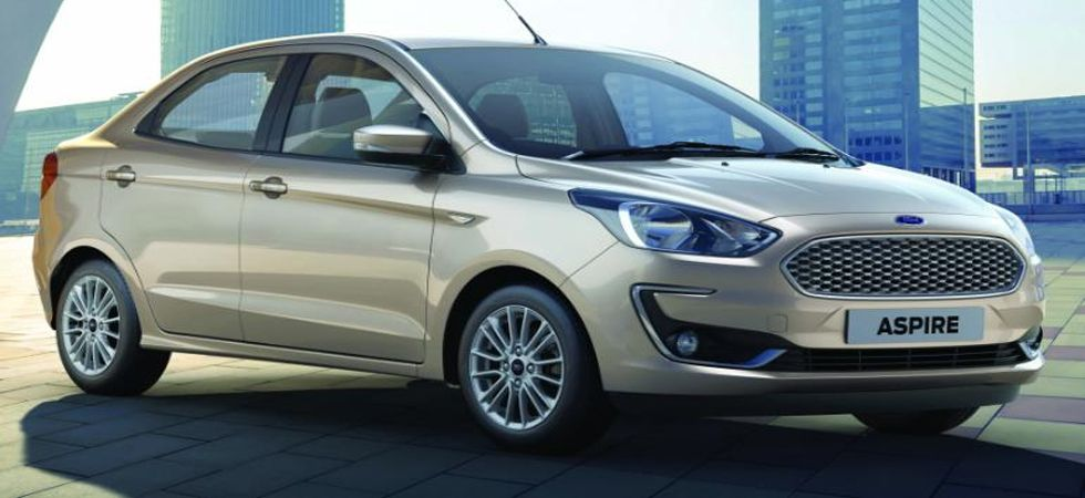 Ford India Drives In New Aspire Priced At Rs 5 55 Lakh Www