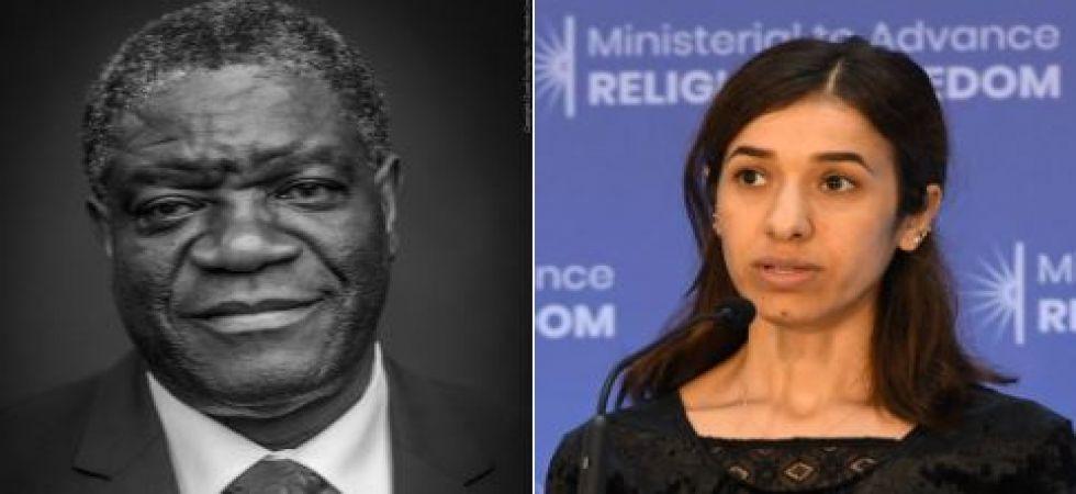 Denis Mukwege and Nadia Murad win Nobel Peace Prize 2018 (Twitter photo)