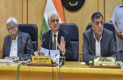 EC announces poll dates for Rajasthan, Madhya Pradesh, Mizoram, Chhattisgarh, Telangana; counting on Dec 11