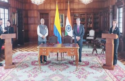 V K Singh visits Colombia to deepen bilateral ties