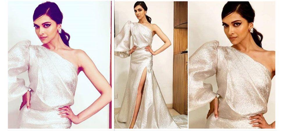Deepika Padukone, Elle Beauty Awards 2018, Gauri and Nainika, silver trail gown, Bollywood Fashion, Best-dressed celebrity/ Image: Instagram