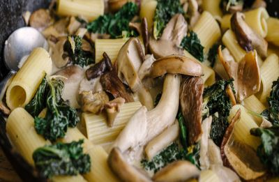 Sunday Munch: This creamy chicken mushroom pasta recipe is ideal for a Sunday dinner party