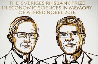 Nobel Economics 2018 awarded to US' William D Nordhaus, Paul M Romer for work on climate change