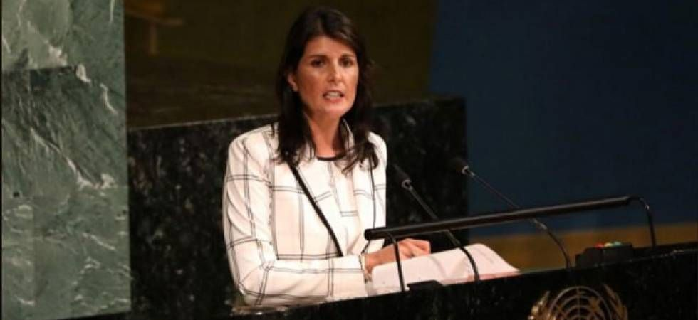 Nikki Haley resigns as US Ambassador to UN (File Photo)
