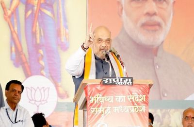 Illegal settlers in India took away jobs of youths: Amit Shah