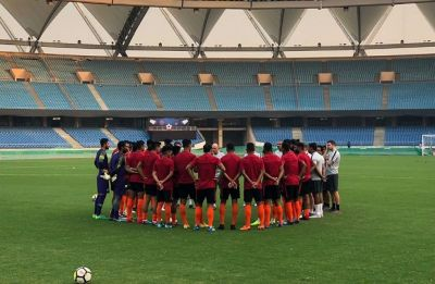 India announces 22-member squad for football match against China