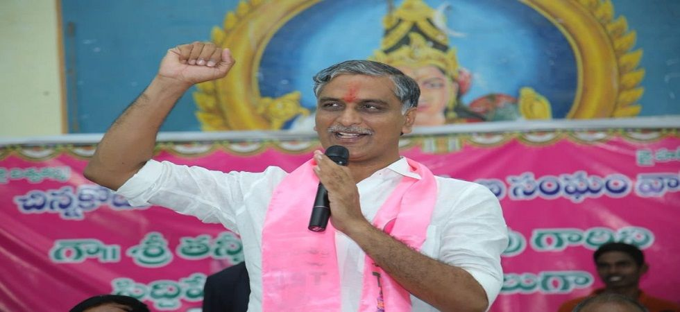 Congress needs to explain tie-up with TDP, says TRS leader T Harish Rao (Photo- Twitter/@trsharish)