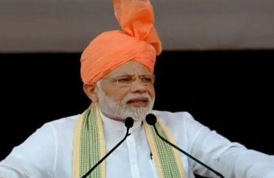 PM Modi unveils Deenbandhu Chhotu Ram statue in Rohtak, says NDA government working for farmers' welfare