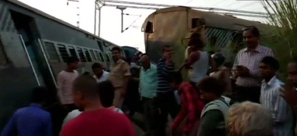 New Farakka Express Derailment LIVE: Two children among five dead; rescue operations underway (ANI Photo)