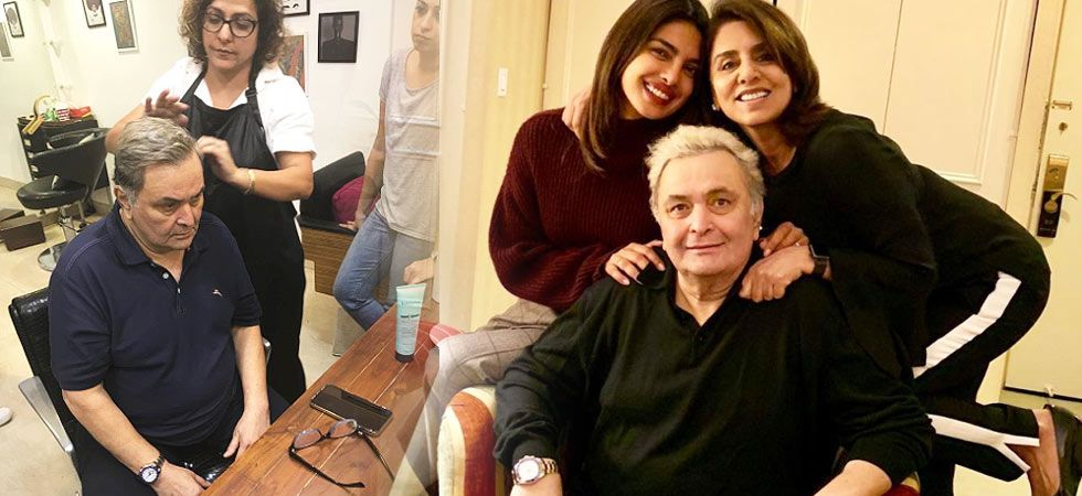 Rishi Kapoor reveals the reason for his sudden grey hair/ Image: Twitter