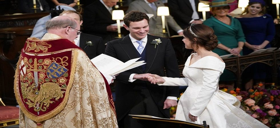 Another royal wedding for Britain as Princess Eugenie weds (Photo: Twitter)