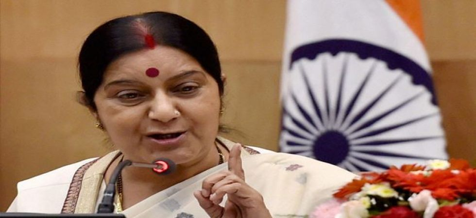 Sushma Swaraj urges SCO members to fight terrorism, address climate change and promote regional peace (PTI photo)