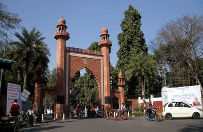 Three Kashmiri students suspended by AMU for allegedly trying to hold prayer for militant Manan Wani