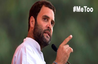 #MeToo: Congress President Rahul Gandhi says high time everyone learns to treat women with respect