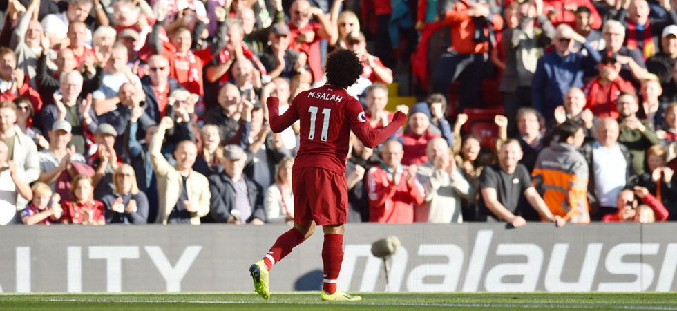 Watch: Mohamed Salah's 'incredible' goal that leaves Twitterati into a frenzy (Photo: Twitter/@MoSalah)