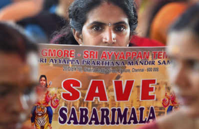 Sabarimala Verdict: Thousands of devotees hit Kochi streets, Shiv Sena threatens mass suicide