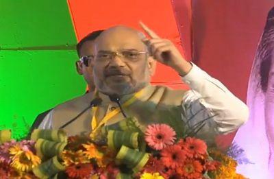 Madhya Pradesh Assembly Poll: Aim to win 200-plus seats, Amit Shah tells BJP workers