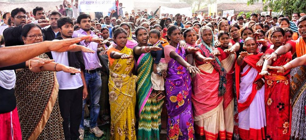 Chhattisgarh: District administrations carry out voters awareness programmes to increase turnout (Photo: ANI/Twitter)
