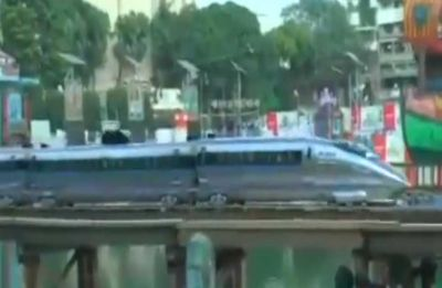 Watch: 'Bullet train' running through Kolkata streets will leave you amazed