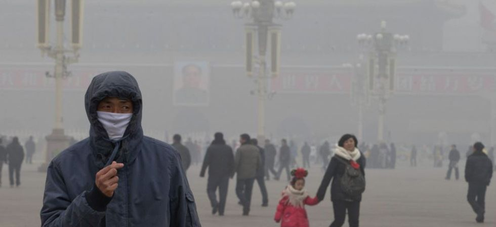 Experts blame perfume, hair gel for fuelling smog in Beijing (Photo: Twitter)