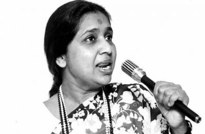 Asha Bhosle records puja song after over two decades