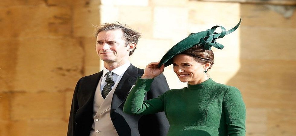 Pippa Middleton, sister of Duchess Kate, gives birth to baby boy (Photo- Twitter)