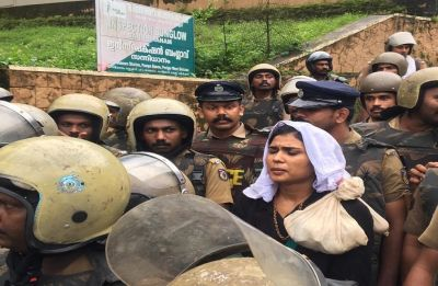 Sabarimala Temple: 'People, not the devotees, who want to disrupt peace didn't allow us to enter'