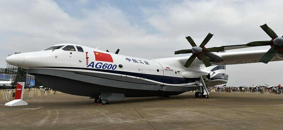China-built world's largest amphibious plane completes