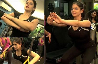 This Zareen Khan's workout video is the ultimate fitness goals!